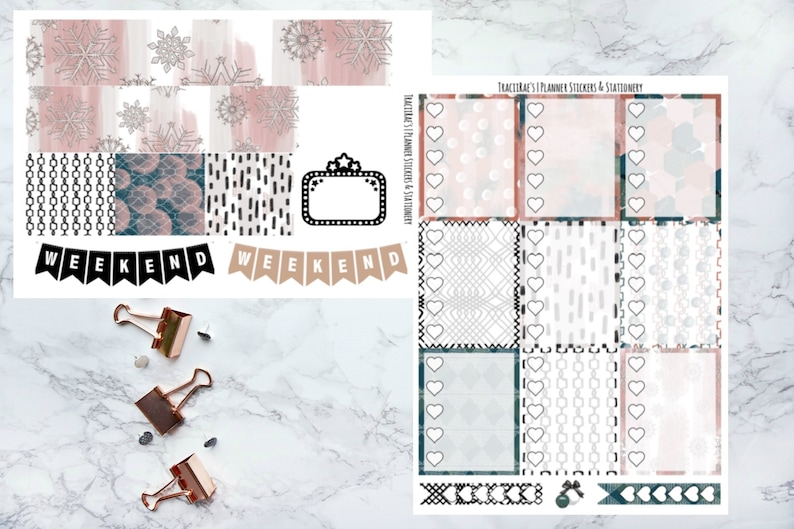 Christmastime Vertical /& Happy Planner Deluxe Kit