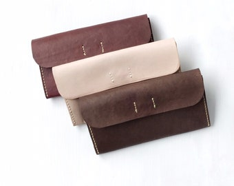 Leather Clutch, Leather Purse, Evening Bag, Leather Handbag, Handcrafted Leather Clutch, Minimalist Style