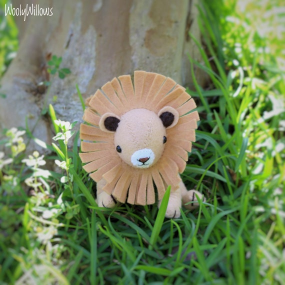 Scary Squeeze Stuffed Animals, Aslan Etsy