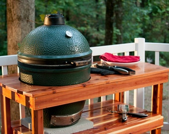 Big Green Egg table FREE SHIPPING!! (Long table for Large Green Egg)