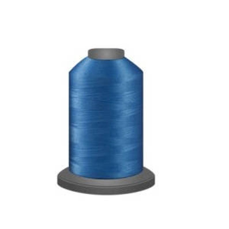 40 wt 1100 yds Polyester Thread Glide Hawaiian Blue