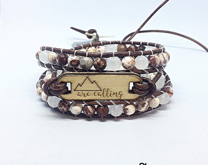 Agate Mountains Are Calling Bracelet