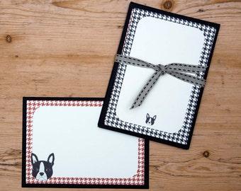 BostonTerrier Note-Card Set