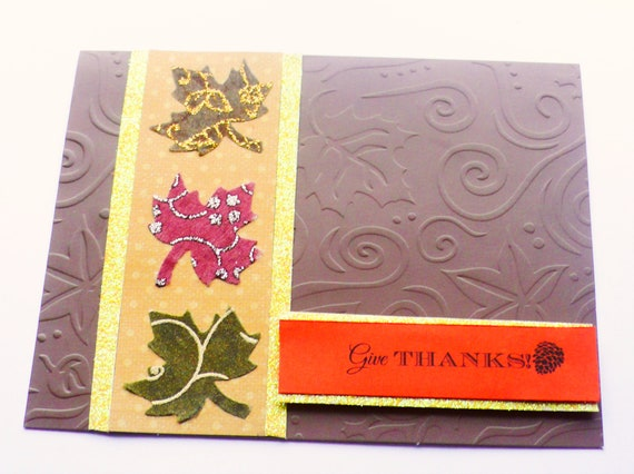 thanksgiving card fall cards autumn cards holiday cards etsy