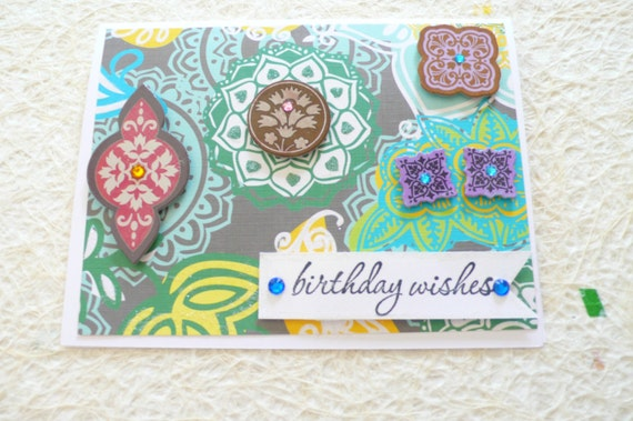 Handmade Birthday Card Happy Friend