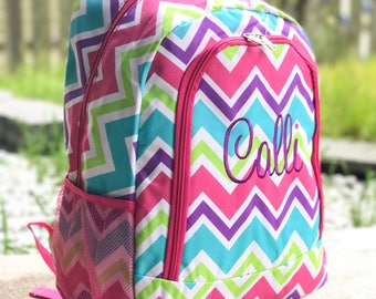 Rainbow Backpack, Pink Backpack, Multicolor Backpack, Purple Backpack, Red  Backpack, Orange Backpack, Monogrammed backpack, Girl Backpack 9f5359f280
