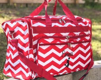 Cheer Bag, Cheer Duffle Bag, Cheerleader Gift, Personalized Cheer Bag, Gray Duffle, Girls Duffle Bag, Sport Bag, Cheer Gift, Cheer Team Bag