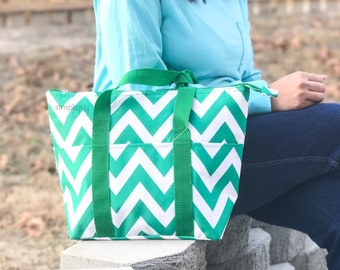 Insulated Lunch Bag - Lunchbox - Monogrammed Lunch Bag - Personalized Lunch Bag - Geometric Lunch Bag - Work Lunch Bag - Monogram lunchbox