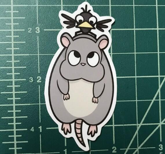 Boh Yubaba S Bird Spirited Away Ghibli Sticker Etsy