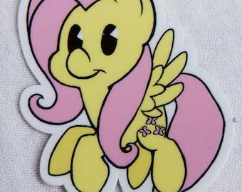 Fluttershy Sticker (Pose 1)