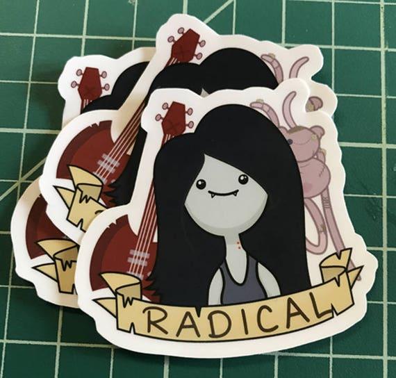 Marceline The Vampire Queen Adventure Time Sticker