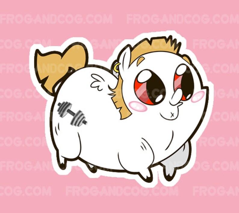 Bulk Biceps My Little Pony Sticker