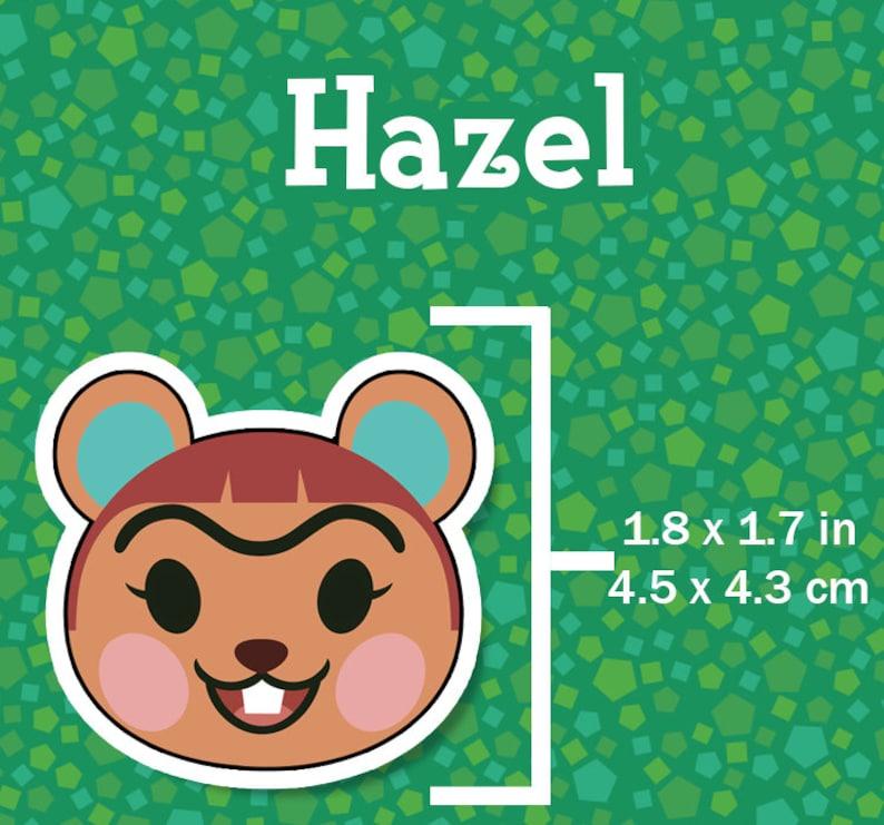Hazel Animal Crossing Sticker