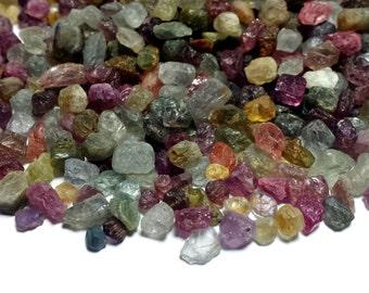 Genuine African Sapphire 3-6mm Mixed Color Rough Specimen (20 Pcs) Parcel Lot ~ BUY 2 GET 1 FREE