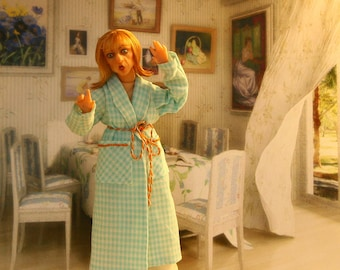 Unexpected. OOAK DOLLHOUSE DOLL. 1:12 scale.