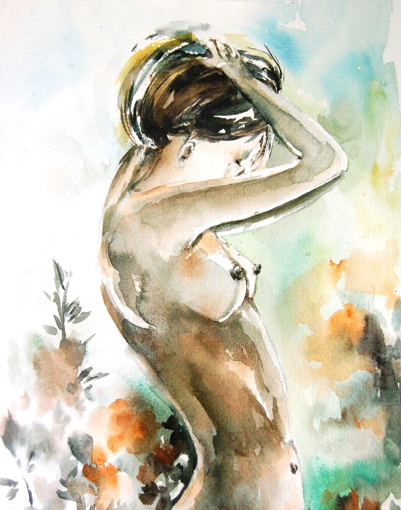 Feminine Print Nude Prints Feminine Art Funny Female Art