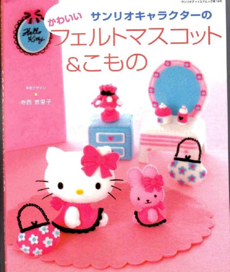 facb83561 18 FELT SEWING PATTERNHello KittyJapanese Craft E-Book | Etsy
