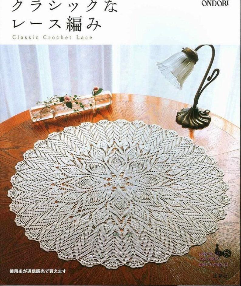 3e2a854f8de 27 JAPANESE CROCHET PATTERNClassic Crochet