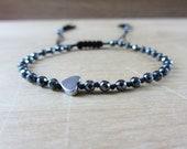 Women heart bracelet, min...