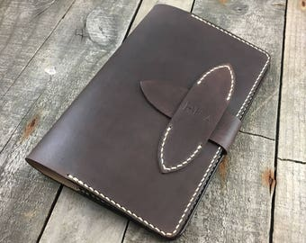 Leather Travel Journal, Personalised Leather Journal, Moleskine Journal Cover, Leather Notebook Cover, Leather Diary Cover