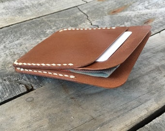 Kangaroo Leather Wallet, Minimalist Leather Wallet, Skinny Leather Wallet, Front Pocket Wallet, Slim Leather Wallet, Quick Leather Gift