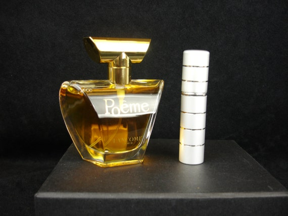 Vintage Rare Old Perfume Poeme By Lancome Eau De Parfum 1 2 4 Ml Glass Vial 5ml Or 10 Ml Purse Spray Old Formula Discontinued