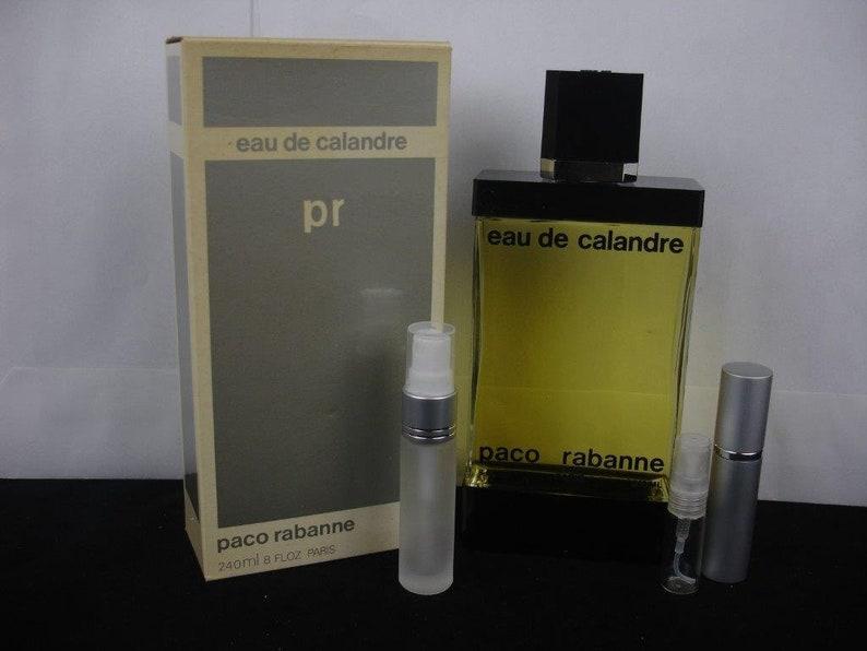 Vintage Calandre Eau De Calandre Parfum Rare Pour Les Hommes Etsy