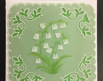 Greeting Card, Any Occasion, Lily of the Valley