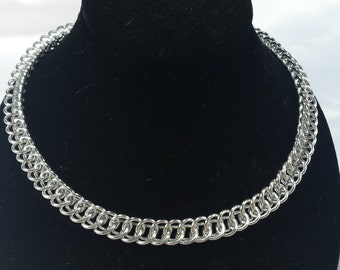 Half Persian Chainmail Necklace