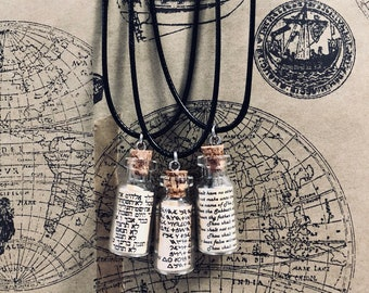 MEEK - 10 Commandment Vial Necklace