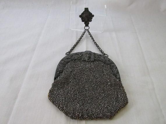 Art Nouveau Chatelaine Bag - image 1