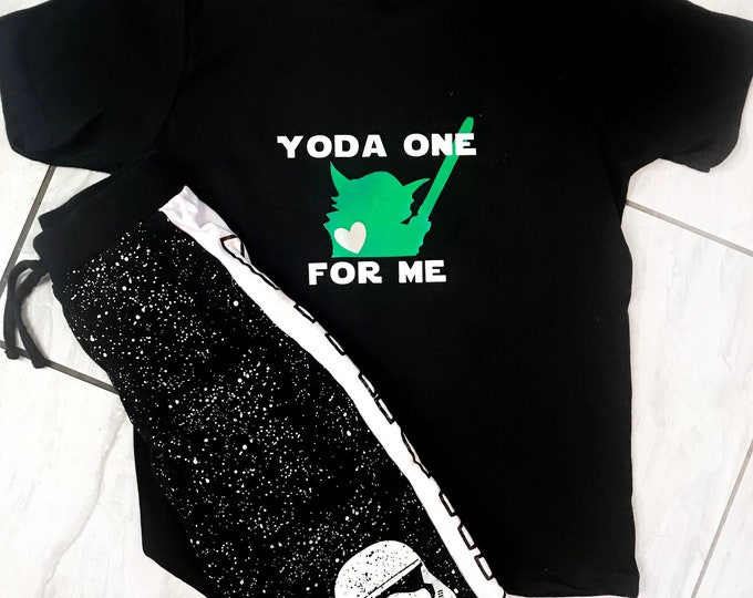 Yoda One For Me - Boys T Shirts
