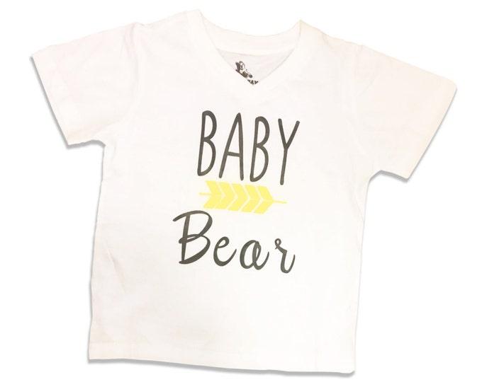 Baby Bear Arrow Custom T Shirts for the Littles