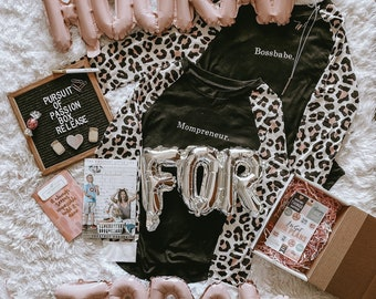 The Pursuit of Passion Box - Boss Babe Inspirational Swag