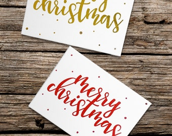 Merry Christmas Signs in ANY COLOR! Great accent to any holiday with these cute simple canvas Signs!