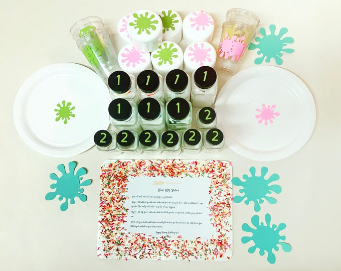 Birthday Party Slime Kits - Slime Party Favors