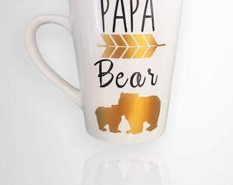 Papa Bear Coffee Mug - Gifts for Dad