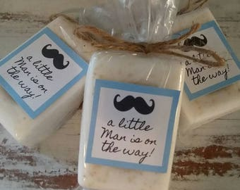 Mustache Baby Shower Favors Soap A little Man Baby Shower Soap Favors Organic Soap Baby Shower Favor Soap Baby Soap Favors Soap Favor