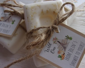Boho Wild One Baby Shower Favors Soap Baby Shower Soap Favors Organic Soap Baby Shower Favor Soap Baby Soap Favors Wild One Soap Favor
