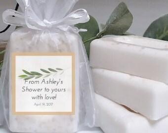 mini soap favors bridal shower soap favors with labels rustic bridal shower soap favor soap party favors olive branch mini soaps