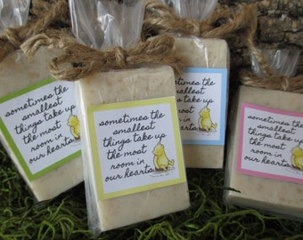 Baby Shower Favors Soap Winnie the Pooh Baby Shower Soap Favors Organic Soap Baby Shower Favor Soap Baby Soap Favors Bear Soap Favor