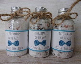Bath Salt Favors Bowtie Baby Shower Favor Bath Salt Bowtie Favor Bath Salt It's a Boy Baby Shower Favor Bath Salts Boy Baby Shower Favor