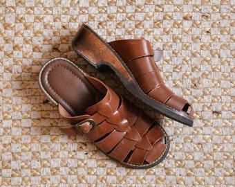 7de3a5be51a33 Fisherman shoes | Etsy