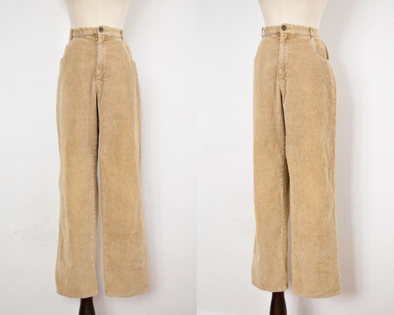 tan corduroy pants | 32