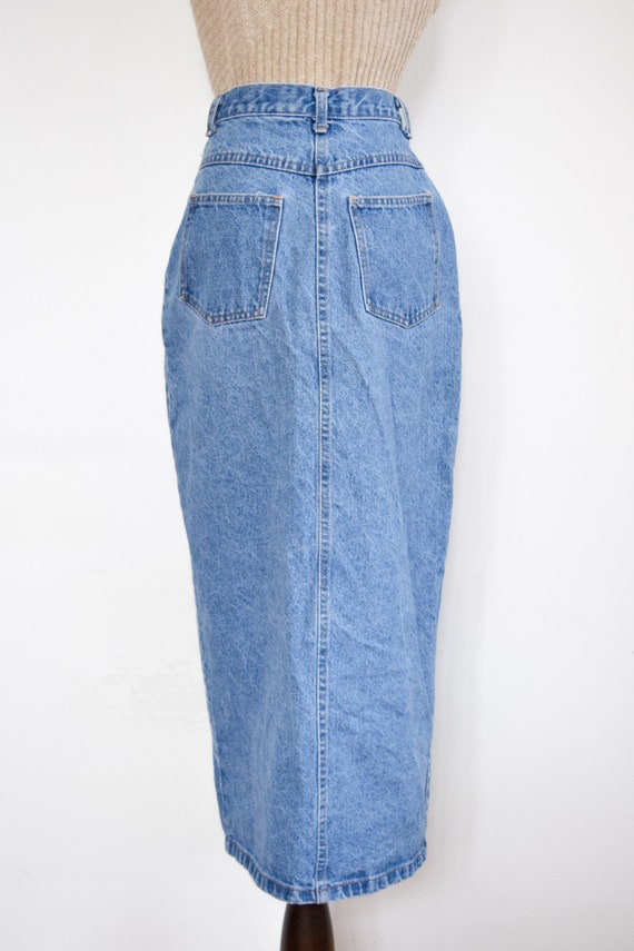 button front denim skirt | 26 - image 6