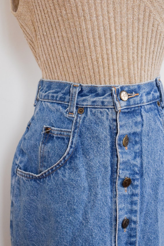 button front denim skirt | 26 - image 5