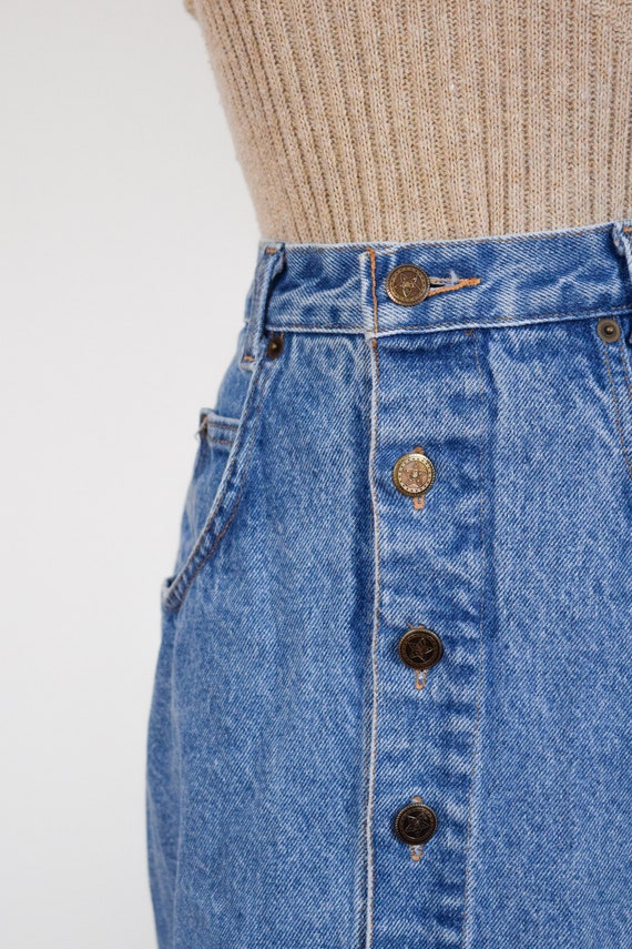 button front denim skirt | 26 - image 4