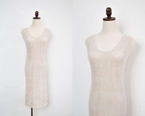 bohemian crochet dress | s