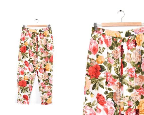 april cornell floral pants | 28
