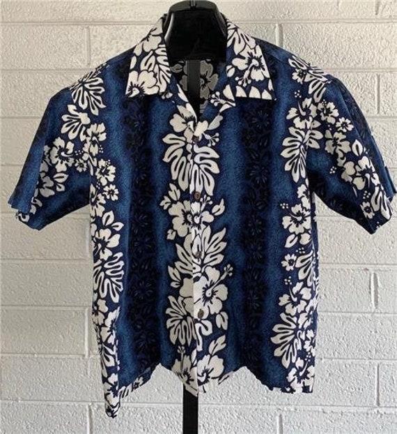 Vintage 1970's Kids Royal Hawaiian Creation Shirt